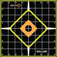 ALLEN EZ AIM SPLASH ADHESIVE GRID TARGET 6-PK 8X8
