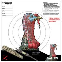 ALLEN EZ AIM TURKEY TARGET 6-PK 12X12