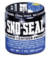 ATSKO SNO-SEAL BEESWAX LEATHER WATERPROOFING 8FL OZ