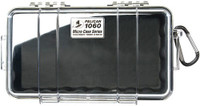 PELICAN 1060 MICRO CASE CLEAR W/ BLACK LINER ID 8.3X4.3X2.3