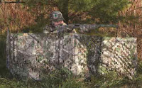 HS PORTABLE GROUND BLIND COLLAPSIBLE RT-XT GRN 27X12'