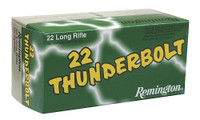 Remington Ammunition TB22B Thunderbolt 22 LR Round Nose 40 GR 500Box/10Case**