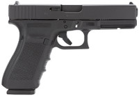 Glock PG2150203 G21 Gen 4 Double 45 Automatic Colt Pistol (ACP) 4.6 13+1 Black Interchangeable Backstrap Grip Black*