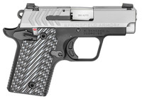 "Springfield Armory PG9109S 911 380 Automatic Colt Pistol (ACP) Single 2.7"" 6+1/7+1 Black/Gray G10 Grip Black Hardcoat Anodized Aluminum Frame Stainless Steel Slide"