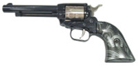 "Heritage - Rough Rider, 22 LR, 4.75"" Barrel, Fixed Sights, Blue/Nickel, HorseShoe Exclusive"