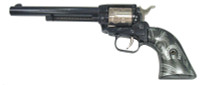 "Heritage - Rough Rider, 22 LR, 6.5"" Barrel, Fixed Sights, Blue/Nickel, HorseShoe Exclusive"