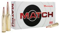 Hornady 82300 Match 338 Lapua Magnum 285 GR ELD-Match 20 Bx/ 6 Cs*