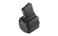 Magpul Industries, Magazine, PMAG D-50, 308 Win/762NATO, 50Rd, Fits DPMS/SR25/LaRue OBR, Black Finish