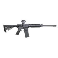 """Smith & Wesson 12936 M&P10 Sport II OR with Crimson Trace Red Dot Semi-Automatic 5.56 NATO 16"""" 30+1 6-Position Black Stk Black Matte/Black Armornite Barrel"""