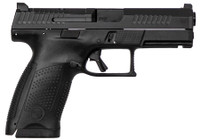 CZ 95130 P-10 USA Compact 9mm Double 4 15+1 Black Interchangeable Backstrap Grip Black Fiber Reinforced Polymer Frame Black Nitride Slide*