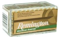 Remington Ammunition R22M1 Premier  22 Win Mag Rimfire (WMR) 40 GR JHP 50 Bx/ 40 Cs*