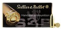 Sellier & Bellot SB9A Handgun 9mm 115 GR FMJ 50 Bx/ 20 Cs*