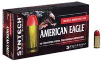 Federal AE9SJAP1 Syntech Action Pistol 9mm Luger 150 GR Total Syntech Jacket Flat Nose 50 Bx/ 10 Cs*