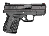 Springfield Armory XDS ESSENTIALS 9MM 3.3 FS 7+1 BLACK/BLACK PACKAGE  comes with 4 magazines and soft case