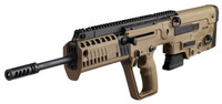 "IWI US XFD18RS Tavor X95 *NJ/MD Compliant* Semi-Automatic 223 Rem/5.56 NATO 18.5"" 10+1 FDE Fixed Bullpup Synthetic Stock Black Steel Receiver"