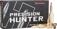 Hornady 81621 Precision Hunter  6.5 Precision Rifle Cartridge (PRC) 143 GR ELD-X 20 Bx/ 10 Cs*