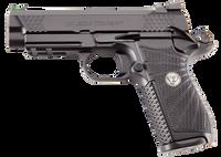 Wilson Combat EDCXPR9 1911 EDC X9 9mm Luger Single 4 15+1 Black G10 Grip Black Stainless Steel Slide*