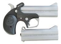 Bond Arms BAJW9MM Wicked  Derringer 9mm Luger (+45/410 Barrel) 4.25 2 rd Black Rubber Grip*