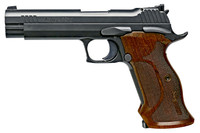 Sig Sauer 210A9TGT P210 Target Single 9mm Luger 5 8 Walnut Grip Black Nitron Stainless Steel*