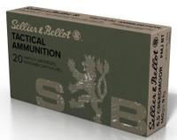 Sellier & Bellot SB65A Rifle  6.5 Creedmoor 140 GR Full Metal Jacket Boat Tail (FMJBT) 20 Bx/ 25 Cs*