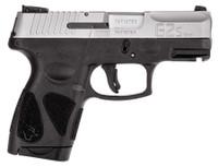 Taurus 1G2S4039 G2S  40 S&W Single 3.25 6+1 Black Polymer Grip/Frame Stainless Steel Slide*