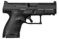 CZ 95170 P-10 USA Sub-Compact Optics Ready 9mm Luger Double 3.5 12+1 Black Interchangeable Backstrap Grip*
