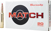 Hornady 82162 Match  300 Precision Rifle Cartridge (PRC) 225 GR ELD-Match 20 Bx/ 10 Cs*