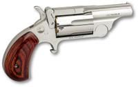 NAA 22MCBTII Ranger II  22 LR/22 Mag Single 1.63 5 Rosewood Bird's Head Grip Stainless Steel Frame*