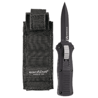 "Benchmade Mini Infidel OTF Automatic Knife (3.10"" Black) 3350BK"
