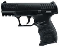 WAU Model CCP 9x19mm Caliber 3.54 Inch Barrel Black Finish SoftCoil System Black Polymer Frame 8 Round