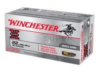 WIN Super-X .22 Long Rifle 40 Grain Plated Power-Point 100 Per Box Super-X High Velocity Rimfire