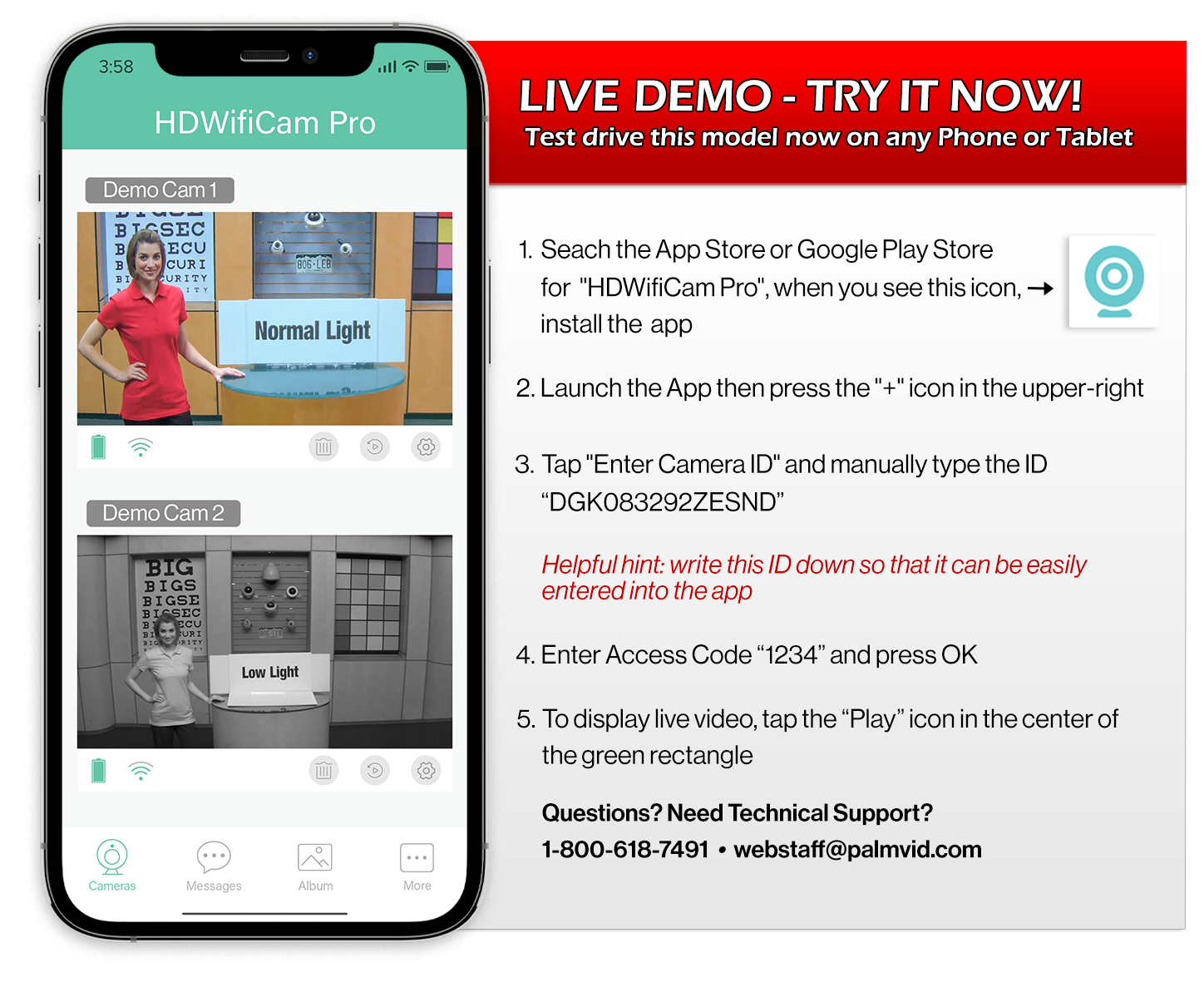 Live Demo-Try It Now!
