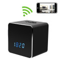 Desk Clock with Bluetooth Speaker Hidden Camera WiFi DVR with NO Pinhole 1920x1080
