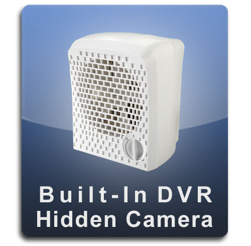 Built-In DVR Air Purifier Hidden Camera