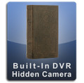 PalmVID Book Safe Hidden Camera with Built-In DVR