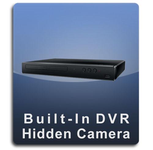 DVD Player DVR Series Hidden Nanny Camera  -  DVD-DVR