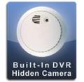 PalmVID Smoke Detector Hidden Camera with Adjustable View