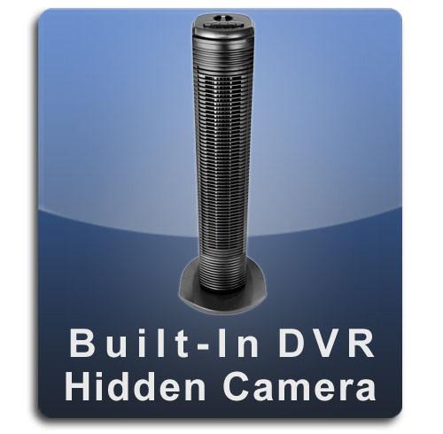 Tower Fan Hidden Camera Spy Camera Nanny Cam with Built-in DVR