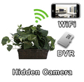 WiFi Plant Hidden Camera Spy Camera Nanny Cam