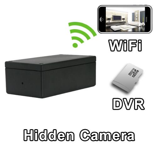 WiFi Project Box Hidden Camera Spy Camera Nanny Cam