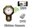PalmVID WiFi Series Pendulum Clock Hidden Camera