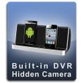 Bluetooth Speaker USB Charging Cell Phone Docking Station Hidden Camera Nanny Cam