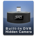 PalmVID iPhone iPad Docking Station Hidden Camera with Built-In DVR