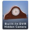 Mantle Clock DVR Series Hidden Camera Nanny Cam