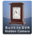 Square Clock DVR Series Hidden Camera Nanny Cam