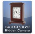Square Clock DVR Series Hidden Camera Nanny Cam