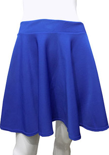 Royal Blue Scuba Skirt