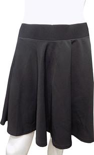 Black Scuba Skirt
