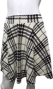 White/Black Printed Skirt
