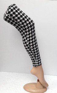 128 Houndstooth Legging